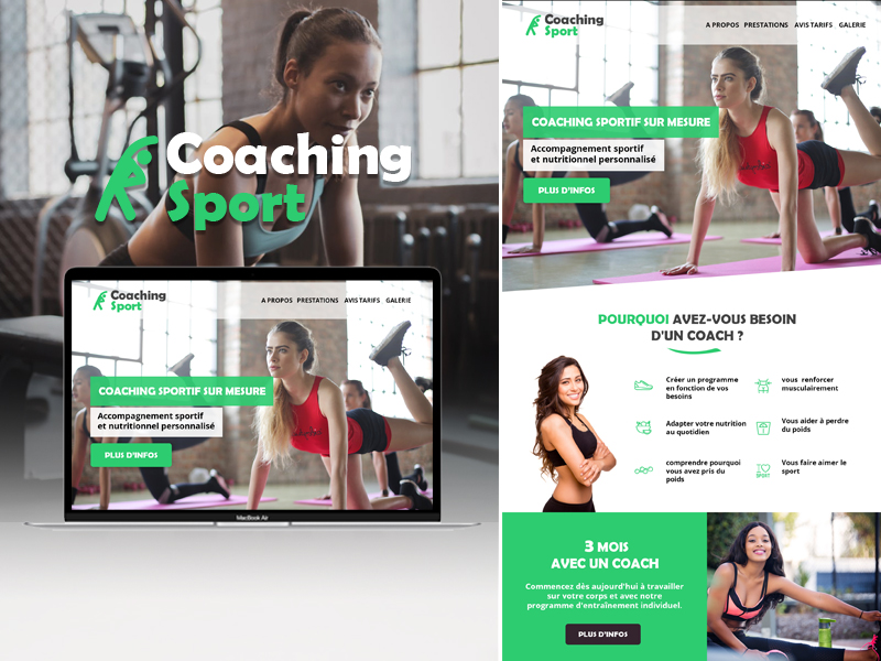 Site internet coach sportif